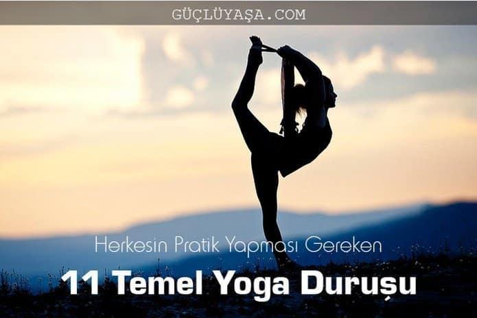 11 temel yoga duru u - Kadınlara Özel