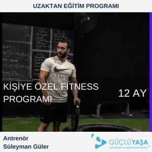 Kişiye Özel Fitness Programı – 12 Aylık