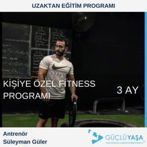 Kişiye Özel Fitness Programı – 3 Aylık