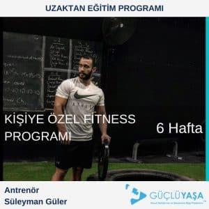 Kişiye Özel Fitness Programı – 6 Haftalık